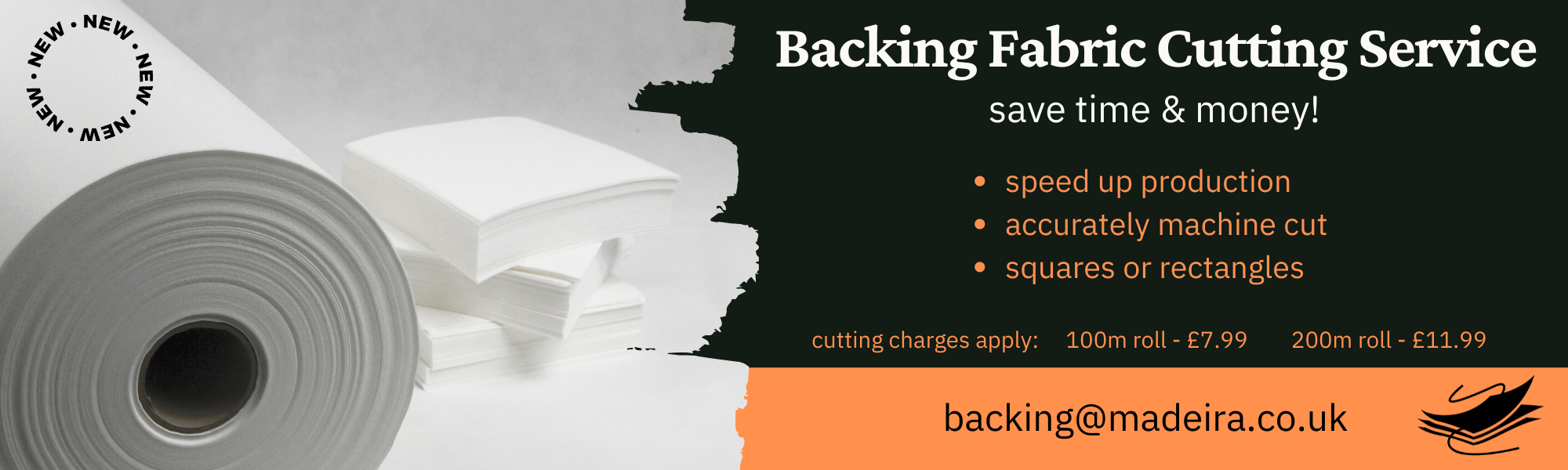 Backing Cutting Service