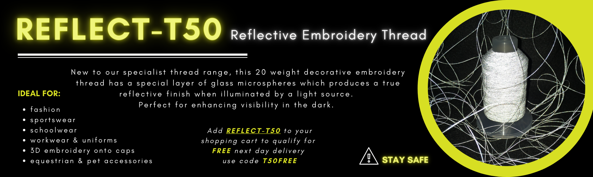 REFLECTIVE THREAD OFFER
