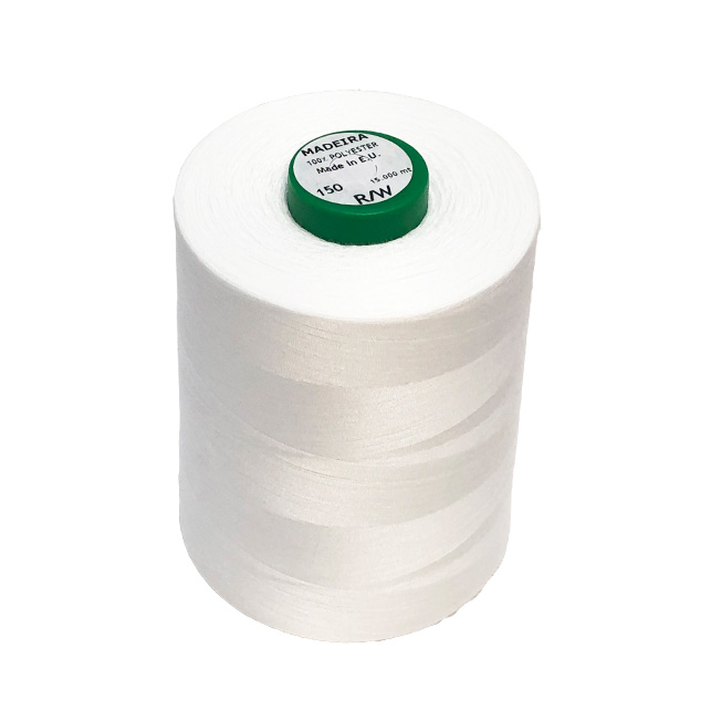 BOBBIN THREAD No.150 15,000m WHITE
