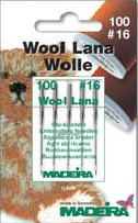 110/18 WOOL/LANA NEEDLES x5