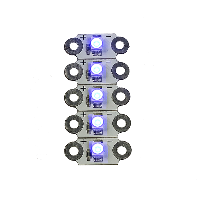 HC LED SEWABLE BLUE 10PK