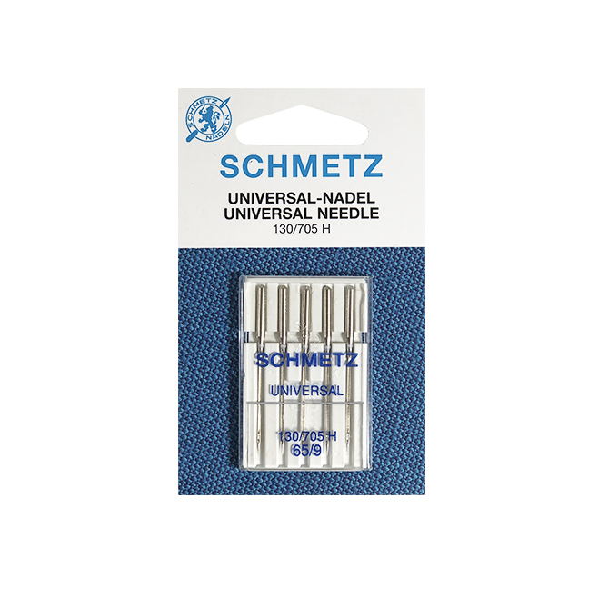 SCHMETZ UNIV.65 (CARD OF 5) NEEDLES