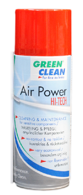 HI-TECH AIR POWER 400ML CAN